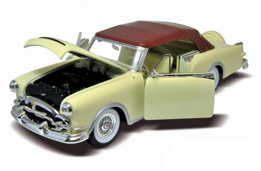 Автомобиль Welly Packard Caribbean 1:24 зеленый 1953, 24016W автомобиль welly audi r8 v10 1 24 белый 24065