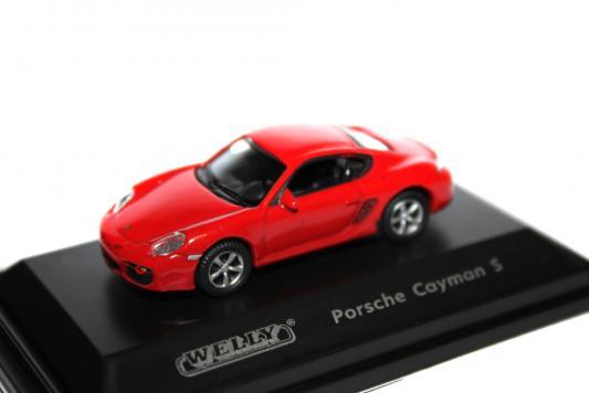 Автомобиль Welly Porsche Cayman S 1:87 разноцветный в ассортименте