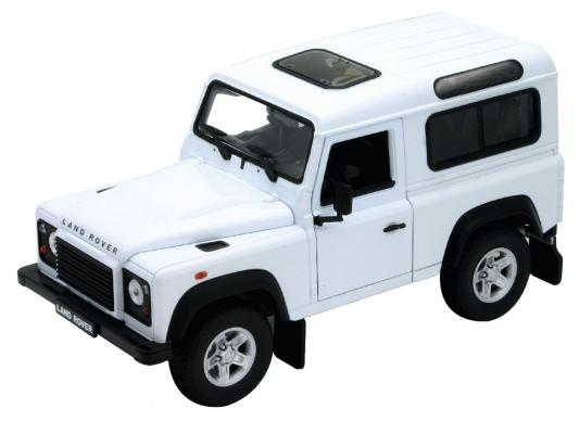 Автомобиль Welly Land Rover Defender 1:24 бежевый