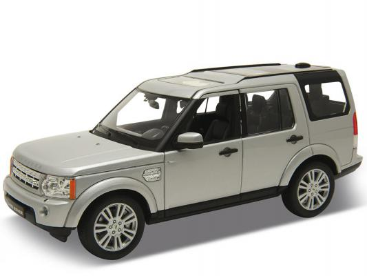 Автомобиль Welly Land Rover Discovery 4 1:24 серый