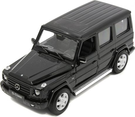 Автомобиль Welly Mercedes-Benz G-Class 1:24 черный  welly mercedes benz m class 1 31
