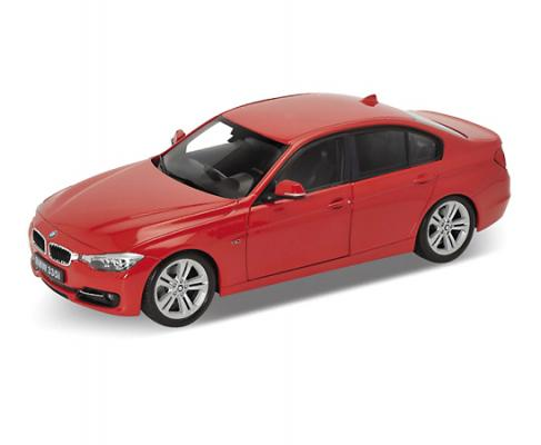 Автомобиль Welly BMW 335i 1:24 красный 24039