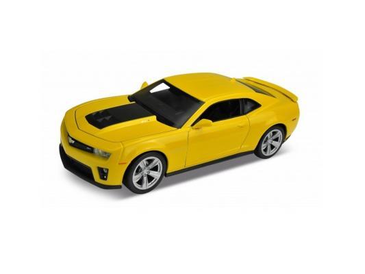 Автомобиль Welly Chevrolet Camaro ZL1 1:24 разноцветный желтый 24042W