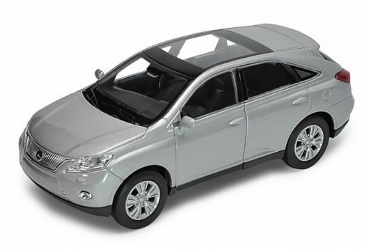 Автомобиль Welly Lexus RX450H 1:34-39 серебристый