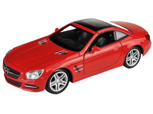 Автомобиль Welly Mercedes-Benz SL500 1:18 красный в ассортименте