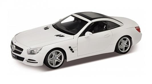 Автомобиль Welly Mercedes-Benz SL500 1:24 белый 24041