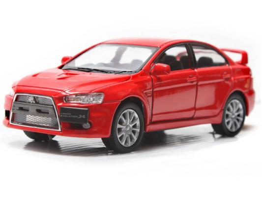 Автомобиль Welly Mitsubishi Lancer Evolution X 1:34-39 красный