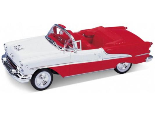Автомобиль Welly Oldsmobile Super 1955 1:24 красный автомобиль welly audi r8 v10 1 24 белый 24065