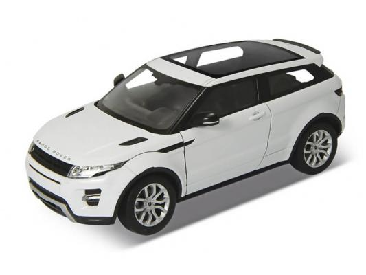 Автомобиль Welly Range Rover Evoque 1:34-39 белый for land rover range rover evoque inside