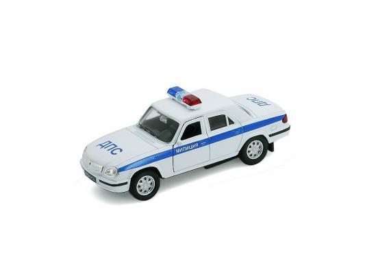 Автомобиль Welly Милиция ДПС 1:34-39 белый автомобиль welly nissan gtr 1 34 39 белый 43632
