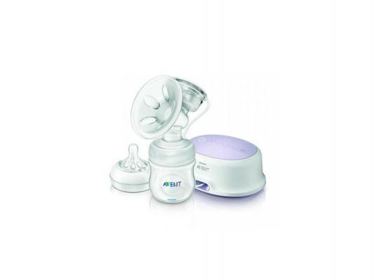 Молокоотсос Philips Avent Natural электронный SCF332/01 молокоотсос ручной philips avent natural scf330 13 с контейнерами