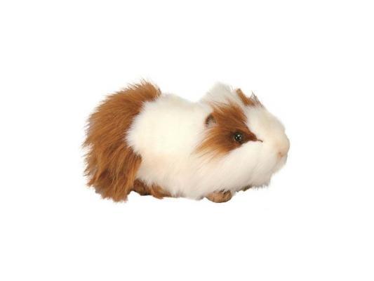 Мягкая игрушка свинка Hansa морская искусственный мех белый 30 см 3245 мягкая игрушка собака hansa собака породы бишон фризе искусственный мех белый 30 см 6317