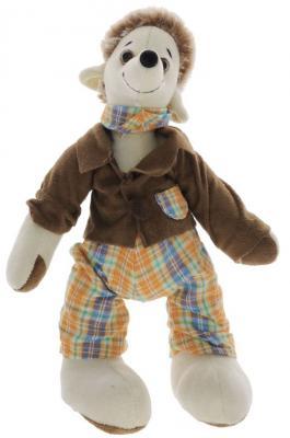 Купить Мягкая игрушка ежик Gulliver Мягкая игрушка Ёжик Топс ткань коричневый 32 см
