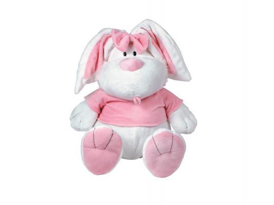 Мягкая игрушка кролик Gulliver 7-42230 сидячий плюш белый 71 см