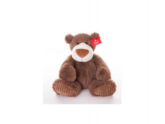 Мягкая игрушка медведь Aurora Мокко плюш коричневый 38 см