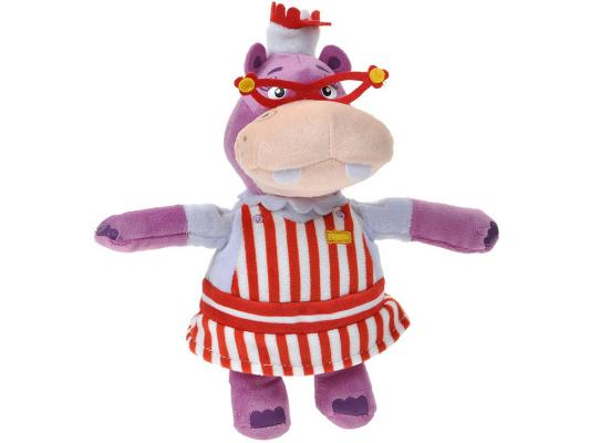 Мягкая игрушка бегемотик Disney Хэлли плюш фиолетовый 20 см