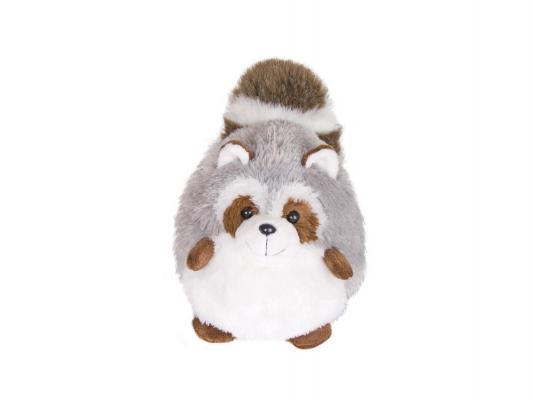 Мягкая игрушка енот Gulliver Пушистый хвостик искусственный мех серый 30 см 14-68620