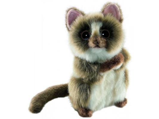 Мягкая игрушка герой мультфильма Hansa Долгопят синтепон коричневый 15 см 4558
