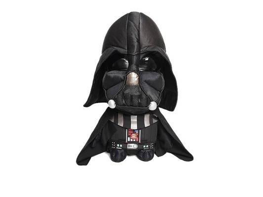 Мягкая игрушка герой мультфильма Star Wars Дарт Вейдер плюш черный 38 см