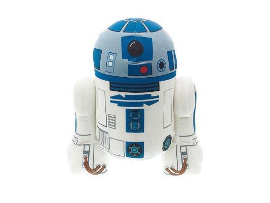 Мягкая игрушка герой мультфильма Star Wars Р2-Д2 плюш голубой 23 см