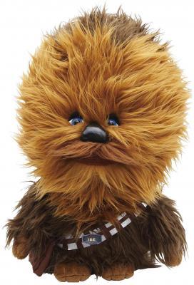 Мягкая игрушка Star Wars Чубакка плюш коричневый 23 см