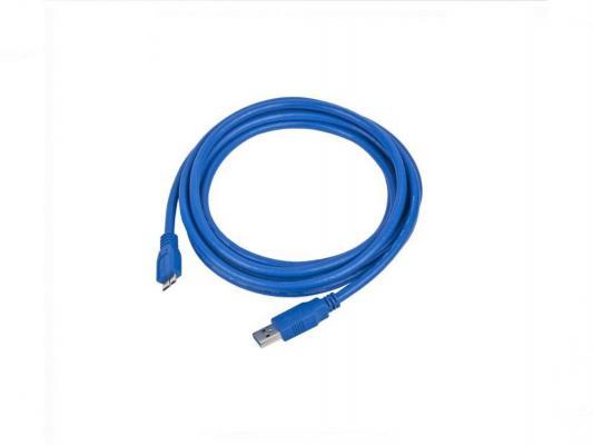 Кабель USB 3.0 AM-microBM 0.3м 9pin Gembird CCP-mUSB3-AMBM-1 кабель usb 2 0 am microbm 1м gembird золотистый металлик cc musbgd1m