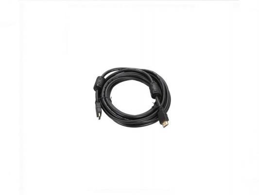 Кабель USB 2.0 AM-miniBM 1.8м 5P Telecom черный TC-6911-1.8M-BK