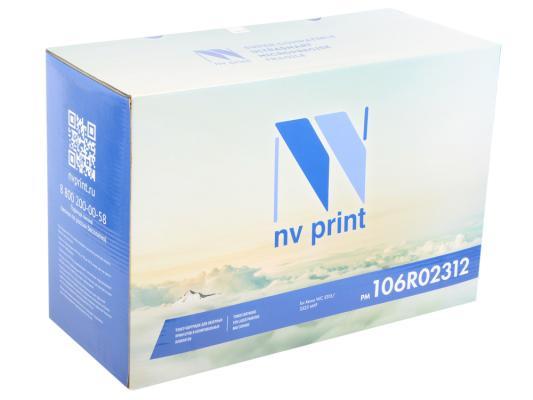 Картридж NV-Print 106R02312 для Xerox WC 3325 MFP черный 11000стр boho print dip hem chiffon top