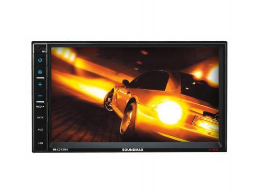 Автомагнитола Soundmax SM-CCR3704 7 800x600 USB MP3 FM RDS SD MMC 2DIN 4x50Вт черный