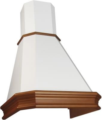 Вытяжка каминная Elikor Пергола 60П-650-П3Л бежевый /бук светло-коричневый цена и фото