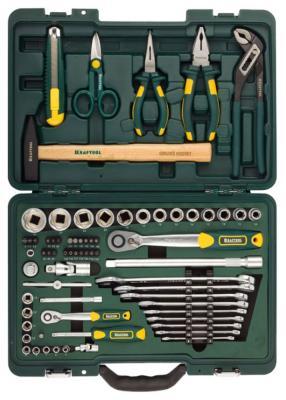 Набор инструментов Kraftool INDUSTRY 70шт 27977-H70  набор kraftool industry слесарно монтажный инструмент 70 предметов