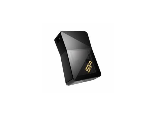 Флешка USB 16Gb Silicon Power Jewel J08 SP016GBUF3J08V1K черный флешка usb silicon power jewel j08 16гб usb3 0 черный [sp016gbuf3j08v1k]