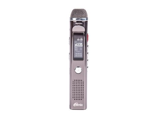 Цифровой диктофон Ritmix RR-150 4Gb стандарт ritmix rf 2500 4gb silver mp3 плеер