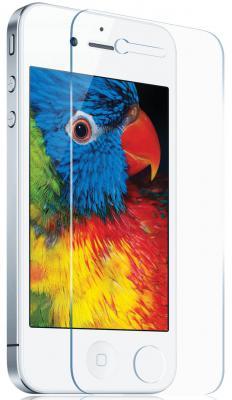 Защитная плёнка суперпрозрачная DF iClear-01 для iPhone 4 iPhone 4S 0.125 мм