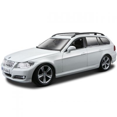 Автомобиль Bburago BMW 3 Series Touring 1:24 белый 18-22116