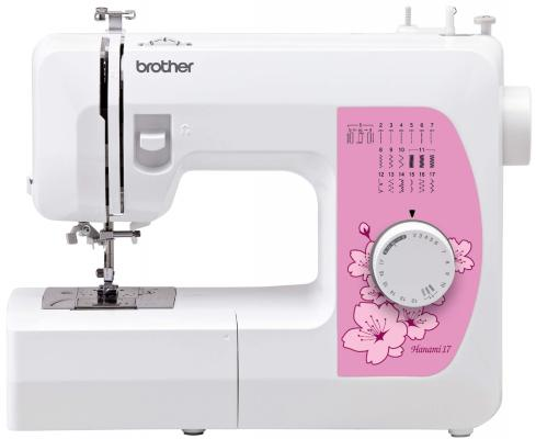 Швейная машина Brother Hanami17 белый швейная машина brother innov is nv150 белый