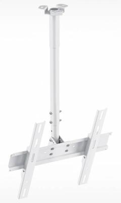 """купить Кронштейн Holder PR-101-W белый для ЖК ТВ 32-65"""" потолочный фиксированный VESA 400x400 до 60 кг онлайн"""
