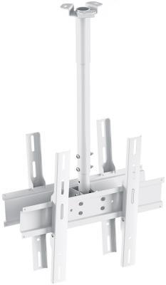 Кронштейн Holder PR-102-W белый для ЖК ТВ 32-65 потолочный фиксированный VESA 400x400 до 90 кг