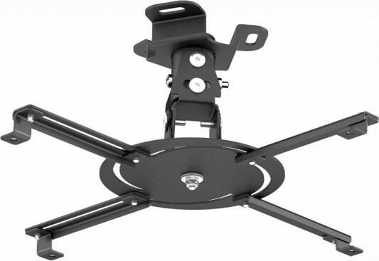 Кронштейн Holder PR-103-B черный для проекторов потолочный до 20 кг кронштейн doffler plus wlp 4352 до 20 кг