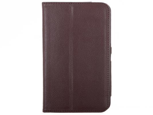 Чехол IT BAGGAGE для планшета Samsung Galaxy Tab4 7.0 искуcственная кожа коричневый ITSSGT7402-2