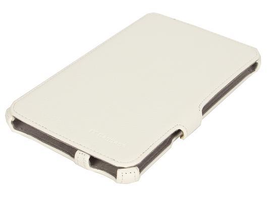Чехол IT BAGGAGE для планшета Samsung Galaxy Tab4 7.0 мультистенд искуcственная кожа белый ITSSGT7405-0 чехол для планшета it baggage itssgt7405 1 черный для samsung galaxy tab 4 7 0