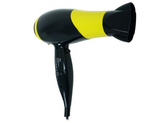 Фен BBK BHD3225i чёрный жёлтый