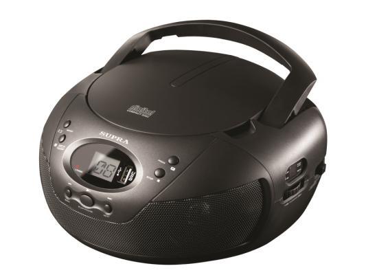 Магнитола Supra BB-CD121U черный