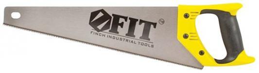 Ножовка Fit Профи по дереву закаленный зуб пластиковая ручка 350мм 40473 ножовка по дереву fit 40657