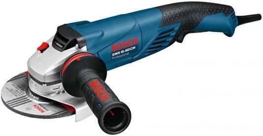 цена на Углошлифовальная машина Bosch GWS 15-150 CIH 150 мм 1500 Вт