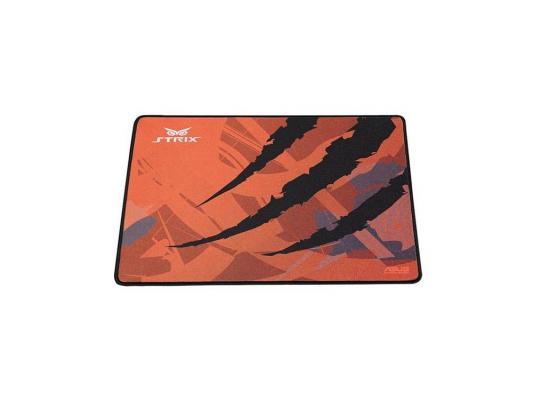 Коврик для мыши Asus Strix Glide Speed черно-оранжевый 90YH00F1-BDUA00