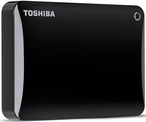 """Внешний жесткий диск 2.5"""" USB3.0 500Gb Toshiba Canvio Connect II HDTC805EK3AA черный"""