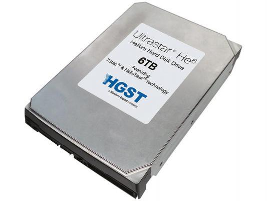"""Жесткий диск 3.5"""" 6Tb 7200rpm HGST Ultrastar HE8 SAS HUH728060AL5204 0F23655"""