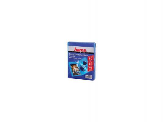 Коробка HAMA для 3 Blu-ray синий H-51469 Онлайн
