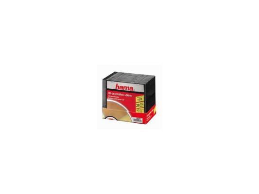 Коробка HAMA для 1 CD 20шт H-11432 коробка hama для 2 cd прозрачный 5шт h 44752